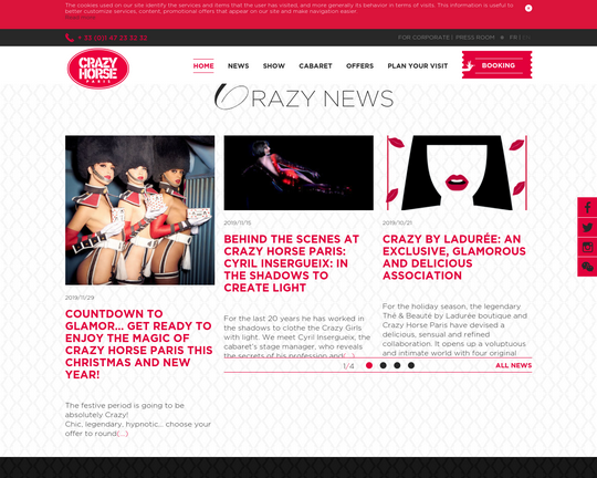 Le Crazy Horse Paris Logo